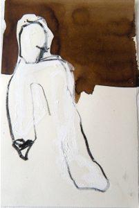 21 x 15 cm, Tusche, Ölkreide