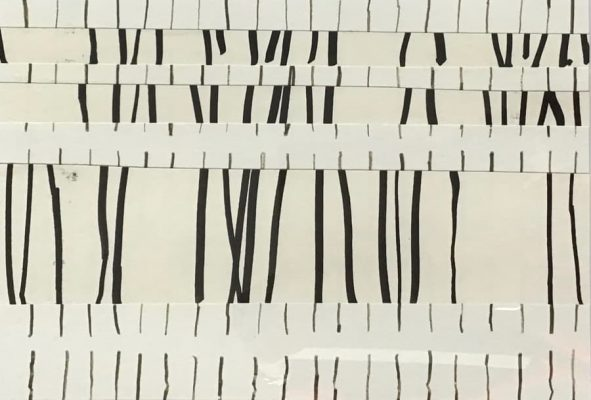 21x29cm, Stifte auf Papier, Collage