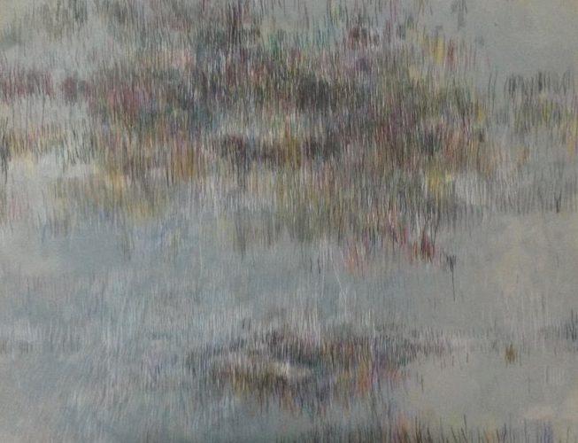70x100cm, Acryl auf MdF