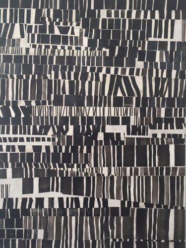 70x50cm, Tusche auf Papier als Collage