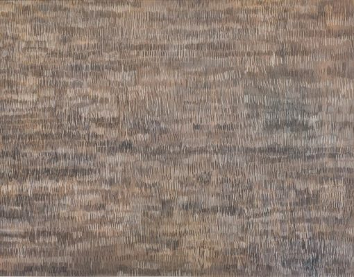 70x90cm, Buntstift auf MdF, Rhythmusstörung