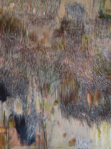 80x60cm Acryl auf Keilrahmen