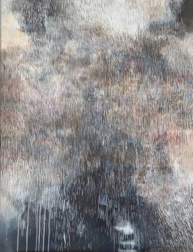 90x70cm, Acryl auf Keilrahmen